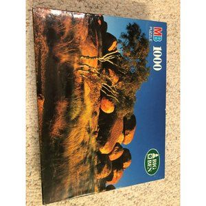 New Vintage MB Big Ben Marbles Australia 1000 pc
